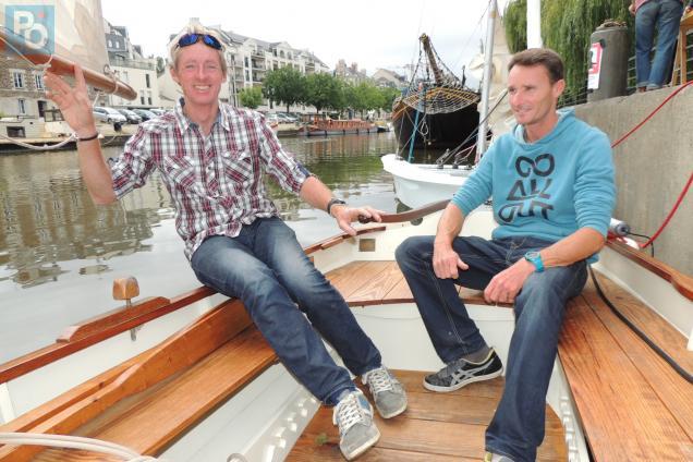 Naviguer sur l'Erdre à bord d'un joli voilier ?